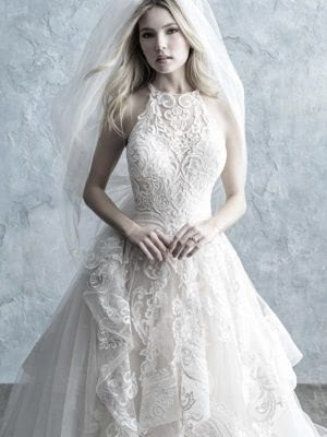 Allure Bridals – Size 14 Ball Gown dress | Second hand wedding dresses Stoke on Trent - 4